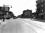 Fulton Street east at South Portland Avenue, 1947