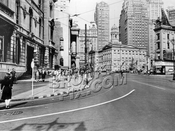 Fulton Street looking north from Boerum Place, 1944