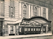 Garden Theater, mystery location under an elevated, 1917