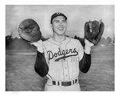 Gil Hodges Catcher - 1st Baseman - 1949 Brooklyn Dodgers