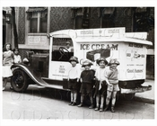Good Humor Ice Cream Truck with children