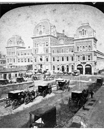 Grand Central Depot 1875 Front