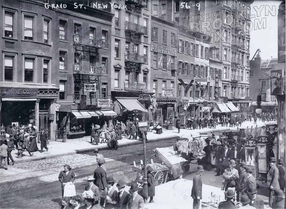 Grand Street east of Essex Street, 1909