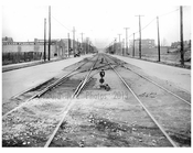 Gravesend Ave looking north from Courtelyou Rd.. 1924