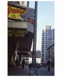 """Grease"" - the longest running show on Broadway -  Theater District NYC 1970s"
