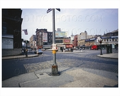 Greenwich Village - Washington Place & Grove Street 1965