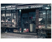 Grocery Store 1969 Harlem