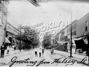 Halsey Street from Broadway, 1908
