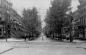 Hancock Street looking south from Wilson Avenue, 1908
