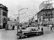 Hanson Place at Flatbush Avenue, 1950s