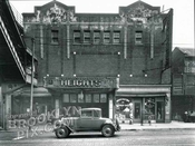 Heights Theater, 159 Washington Street, Downtown, 1929