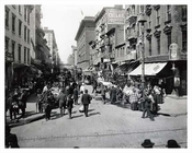 Hester Street looking west from Essex Street - 1900
