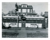 Hillside Diner  Hillside Ave Queens Village 1946