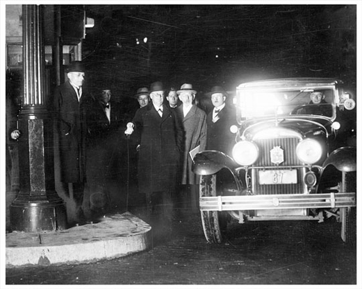 Holland Tunnel General Dyer Pay First Toll 1927