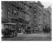 Horse & Wagon Traffic - Park Place & West Broadway Tribeca NY, NY 1917