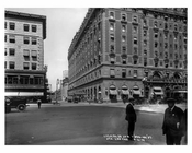 Hotel Astoria on the left 7th Avenue between  44th & 45th Streets - Midtown - Manhattan  1914