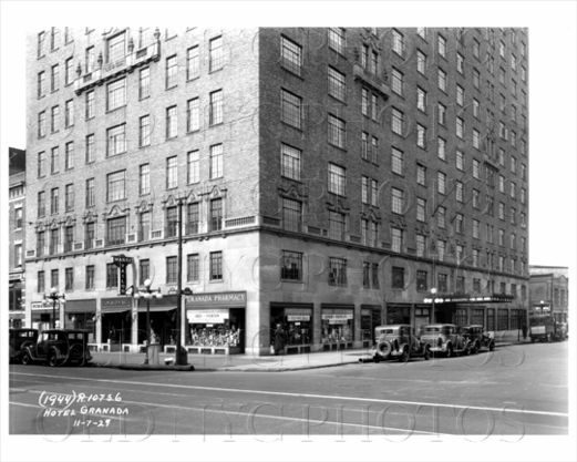 Hotel Granada, Lafayette and Ashland, 1929 Fort Greene