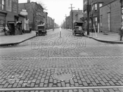 Huron Street looking east from Manhattan Avenue, 1928