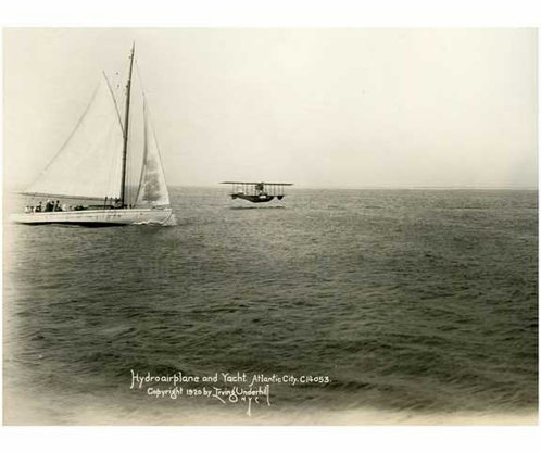 Hydroplane & Yacht Atlantic City 1920