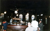 Interior of Popeye's Bar, later called Davey Jones, corner Emmons and Bedford Avenues, 1970s