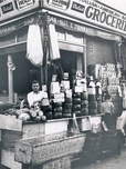 Italian-American-Spanish Grocery, corner Union and Hicks Streets, 1935