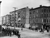 Italian Quarter, Fourth Avenue at Union Street, 1915