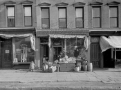 Italian shops, 179 Fourth Avenue, 1920