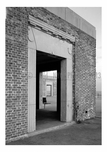 Jacob Riis Park - perspective view looking through three doorways