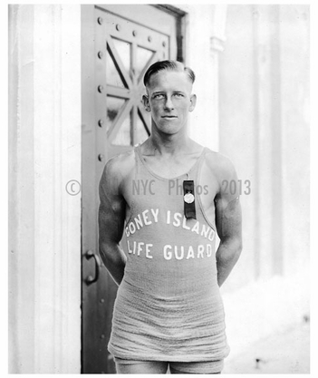 James Purcell - winner of the 200 yd dash C.I. 1922