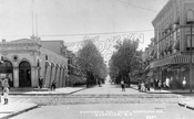 Jefferson Avenue at Wilson Avenue, 1908