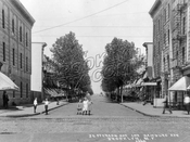 Jefferson Avenue looking north from Wilson Avenue, 1908