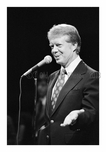 Jimmy Carter speaking at  Brooklyn College for a Campaign stop