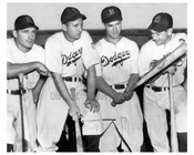Joe Medwick, Dixie Walker, Pete Reiser,  Mickey Owen - Brooklyn Dodgers - NYC
