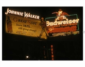Johnny Walker & Budweiser Ads in NYC