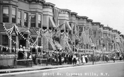 July 4, 1915 on Grant Avenue, Cypress Hills