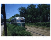 Kensington Brooklyn Trolley PCC East Flatbush, NYC 1956