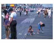 Kids on the boardwalk 1970s