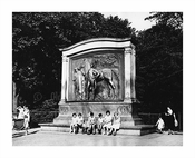 kids playing at Prospect Park