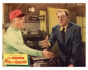 Kill the Umpire - Columbia Pictures Presents - Handshake - Vintage Posters