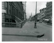Lexington Avenue  & 51st Street - Midtown -  Manhattan NYC 1914