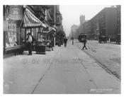 Lexington Avenue & 60th Street 1911 - Upper East Side, Manhattan - NYC