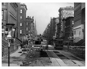 Lexington Avenue & 75th Street - Upper East Side -  Manhattan NYC 1913