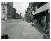 Lexington Avenue  between  51st & 52nd Streets - Midtown -  Manhattan NYC 1914