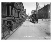 Lexington Avenue between 52nd & 53rd Streets - Midtown -  Manhattan NYC 1914