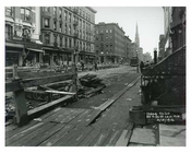 Lexington Avenue between 85th & 86th Streets - Upper East Side -  Manhattan NYC 1914