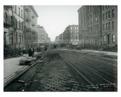 Lexington Avenue between 95th & 96th Streets - Upper East Side -  Manhattan NYC 1914