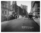Lexington Avenue & East 52nd Street - Upper East Side -  Manhattan NYC 1915