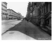 Lexington Avenue & East 78th Street 1912 - Upper East Side Manhattan NYC