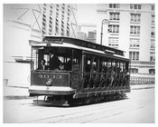 Lexington Avenue Trolley  - Upper East Side -  Manhattan NYC 1913