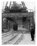 "Liberty Ave  ""El"" under construction 1916- Richmond Hill - Queens NY"